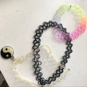 Choker necklace bundle